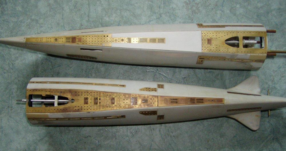 U-boot kit typ: XXI U-2540 1/72
